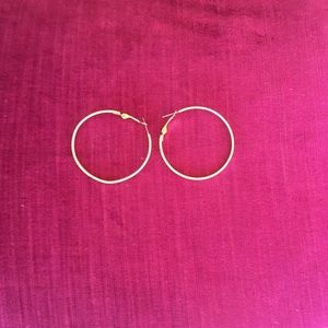 The Perfect Gold Hoop Earrings